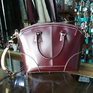 Brown Dooney and Bourke Handbag